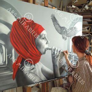 #Art by @arina_gordienko_art
